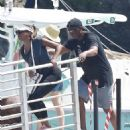 Holly Robinson Peete on a vacation with Rodney Peete in Portofino - 454 x 566