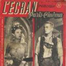 Edwige Feuillère - L'Ecran Francais Magazine Cover [France] (23 December 1947)