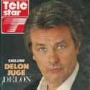 Alain Delon - TeleStar Magazine Cover [France] (14 September 1999)