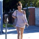 Christian Serratos - Goes To An Audition In Ventura (September 10 2010)