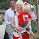 Gwen Stefani and son Zuma