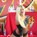 Brooke Hogan - Performing At The Calle Ocho Festival