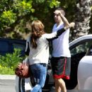 Demi Lovato - At Pinz Bowling Parking Lot In Studio City, 2010-09-23