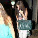 Selena Gomez got her hair chemically straightened today at a hair salon in West Hollywood, California on July 19, 2013 - 454 x 651