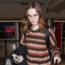 Evan Rachel Wood – Arrives at LAX Airport in LA - 454 x 681