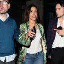 Daisy Lowe and Frankie Bridge night out in Soho - 454 x 493