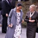 Meghan Markle – 'Visits Brinsworth House in Isleworth