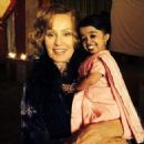 Jessica Lange as Elsa Mars and Jyoti Amge as Ma Petite in American Horror Story - Freak Show (2014)