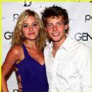 Amanda Michalka and Hunter Parrish