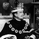 WALTER PIDGEON AS THE KING IN THE 1965 TV MUSICAL ''CINDRELLA''