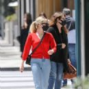 Emma Roberts – heads to Rodeo Dr. in Beverly Hills with her mother Kelly Cunningham