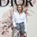 Camille Row – Christian Dior Fashion Show FW 2017 in Paris - 454 x 681
