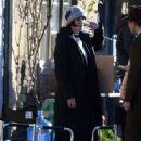 Michelle Dockery – On the 'Downton Abbey' Film Set in Lacock - 454 x 681