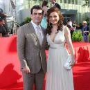 Jorge Salinas and Elizabeth Alvarez