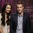 Camilla Luddington and Nico Evers-Swindell -