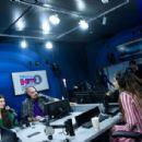 Selena Gomez – Visits the SiriusXM Hollywood Studios in Los Angeles