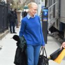 Nicole Kidman on the set of 'The Goldfinch' in NYC