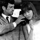 Jean-Paul Belmondo and Anna Karina