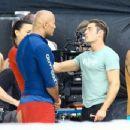 Dwayne Johnson- March 5, 2016- on the Set of 'Baywatch