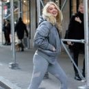 Kate Upton in Grey Outfit – Out in NYC