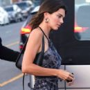 Kendall Jenner – Seen while out for a dinner at Giorgio Baldi in Santa Monica