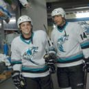 Mick (Ryan Sheckler) and Derek (Dwayne Johnson) Take the Ice in TOOTH FAIRY. © 2009 Twentieth Century Fox, LLC and Walden Media, LLC. All Rights Reserved. - 454 x 302