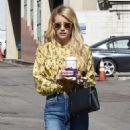 Emma Roberts at the Coffee Bean and Tea Leaf in West Hollywood 10/19/ 2016 - 454 x 585