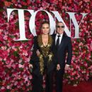 Thalia and Tommy Mottola- 72nd Annual Tony Awards - Arrivals - 454 x 556