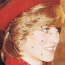 Princess Diana attended a Christmas carol service at Guildford Cathedral - 21 December 1981
