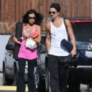 Colin Farrell & His Sister Claudine Hit Up A Yoga Class - 454 x 553