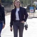 Chloe Moretz in Jeans – Out with a friend in LA - 454 x 707