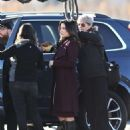 Sophia Bush – On the Set of 'Surveillance' in Vancouver