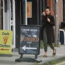 Jennifer Metcalfe – Seen at a local Sunbed shop in Greater Manchester - 454 x 344