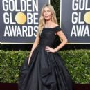 Annabelle Wallis wears Zuhair Murad Dress : 77th Annual Golden Globe Awards