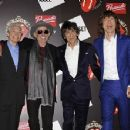 The Rolling Stones celebrate their 50th anniversary with an exhibition at Somerset House on July 12, 2012 in London, England - 454 x 352
