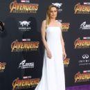 Brie Larson – 'Avengers: Infinity War' Premiere in Los Angeles - 454 x 631