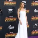 Brie Larson – 'Avengers: Infinity War' Premiere in Los Angeles