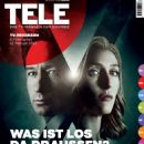 Gillian Anderson and David Duchovny - Tele Magazine Cover [Switzerland] (16 February 2016)