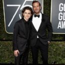Timothee Chalamet and Armie Hammer At The 75th Golden Globe Awards (2018) - 400 x 600