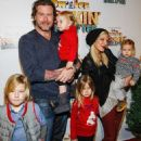 Tori Spelling and her family attending at various events through the years - 454 x 577