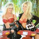 Janine Lindemulder and friend calendar 1992