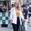 Leven Rambin – Visits AOL Build Series in New York City - 454 x 681