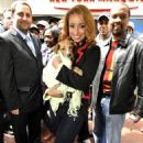 Mýa Harrison - Tour For Life 2010 Animal Shelter Support In Times Square, 27 April 2010