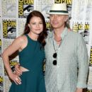 "Actress Emilie de Ravin attends the ""Once Upon A Time"" press room during Comic-Con International 2015 at the Hilton Bayfront on July 11, 2015 in San Diego, California"