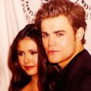 Nina Dobrev and Paul Wesley