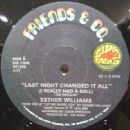 Esther Williams - Your's And Your's Alone / Last Night Changed It All (I Really Had A Ball)