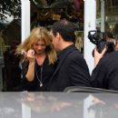 Kate Moss Leaves Rellik Clothes Shop In London, 2008-05-20
