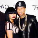 Blac Chyna, Tyga, Kim Kardashian, Kanye West, Kourtney Kardashian, Khloe Kardashian, and More Celebrate Kim's Birthday at Tao Nightclub in Las Vegas - October 25, 2013