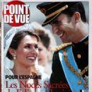 Princesa Letizia de Asturias and Felipe de Borbon - 454 x 562