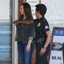 Jennifer Love Hewitt on the set of '9-1-1' in Los Angeles - 454 x 705